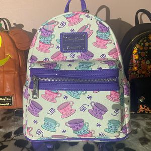 Alice in wonderland loungefly tea party backpack for Sale in Bay Point, CA