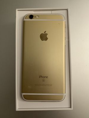 Iphone 6S 32GB Gold ANY CARRIER for Sale in San Diego, CA