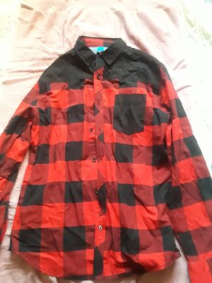 Drill clothing flannel looking shirt for Sale in La Puente, CA