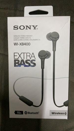 Sony WI-XB400 Extra Bass Wireless In-Ear Headphones WIXB400 - NEW for Sale in Cincinnati, OH