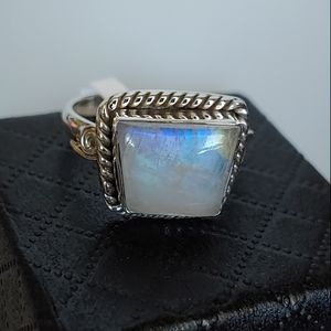 925 color changing Moonstone ring S. 7.5 for Sale in Bonney Lake, WA