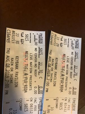 Flo Rida, Nelly, and TLC Tickets for Sale in Washington, PA