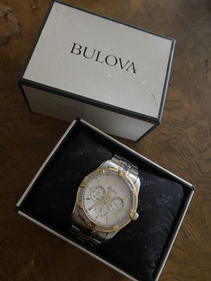 Bulova watch for 250 paid 600 for it new for Sale in Cleveland, OH
