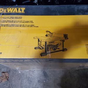 Dewalt Table Saw for Sale in Scarsdale, NY