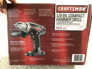 Craftsman hammer drill for Sale in Chesapeake, VA