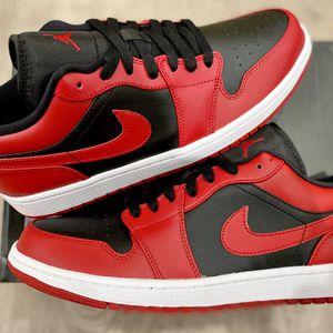 Jordan 1 Low Reverse Bred Size 7.5 , 8.5 , 9 , 10 , 10.5 , 11 , 13 M for Sale in Orange, CA