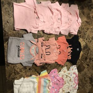 0-3 M Baby Girl Clothes for Sale in Spring, TX