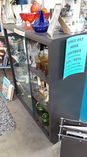 Vintage Steelcase Cabinet with Sliding glass doors. Original price $275, sale price $145. Recently powder coated. Located at Long Beach Antique Mall for Sale in Long Beach, CA