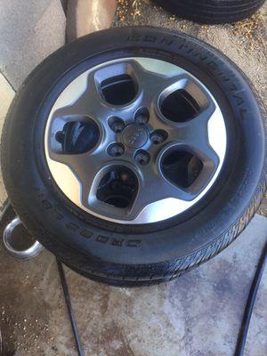 Jeep renegade wheel (rims for Sale in Phoenix, AZ