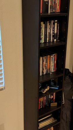 Black, Narrow Bookshelf for Sale in Los Angeles,  CA