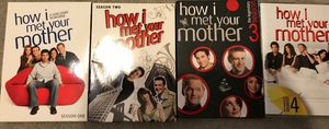 How I Met your Mother, seasons 1-4 for Sale in Potomac, MD