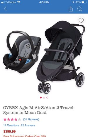 Cybex travel system for Sale in Mishawaka, IN