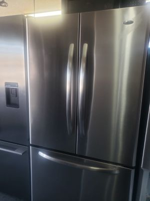 FREE DELIVERY! Amana Refrigerator Fridge French Door 3-Door With Warranty #934 for Sale in Chino, CA