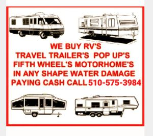 Travel trailer or RV for Sale in Fremont, CA