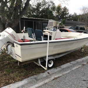 17 Ft Fiberglass Skiff for Sale in New Port Richey, FL