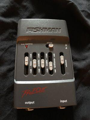 Fishman acoustic preamp for Sale in Tacoma, WA