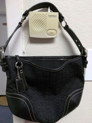 COACH HOBO BAG BLACK. for Sale in Carrollton, TX
