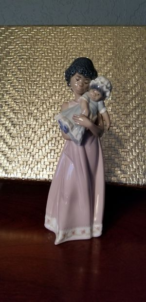 Lladro Black Legacy Figurine Baby Doll for Sale in Pembroke Pines, FL