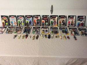 STAR WARS COLLECTIBLE ACTION FIGURES. for Sale in Aliso Viejo, CA