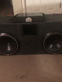 Amp And Subwoofers for Sale in Anderson,  SC