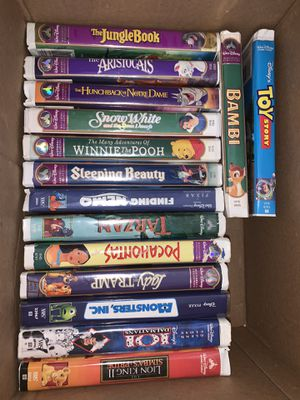 Disney Classics VHS for Sale in Fort Lauderdale, FL