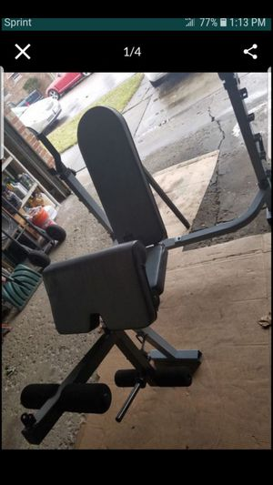 OLYMPIC SIZE WEIGHT BENCH for Sale in Chicago, IL