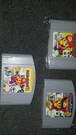 Mario Party 1 2 and 3 for Sale in Fort Worth, TX