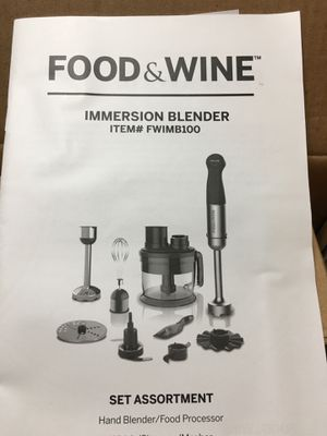 Set Assortment: hand blender/ Food processor for Sale in Miramar, FL