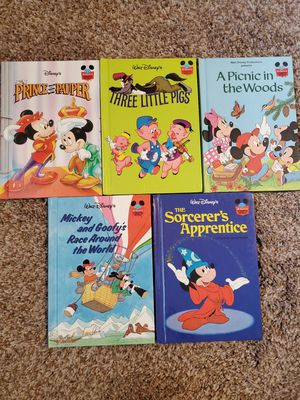 Vintage Disney Picture Books World of Reading for Sale in Vancouver, WA