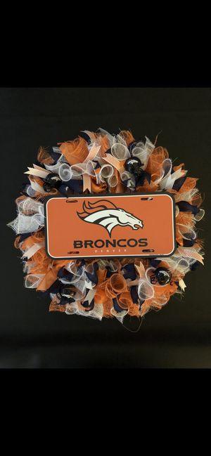 Denver Broncos Wreath for Sale in Avondale, AZ
