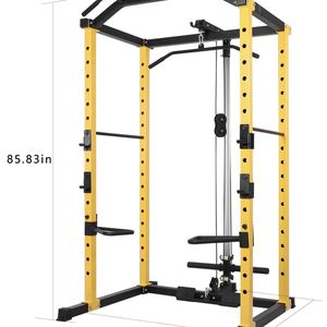 Home Gym Weight Cage With Lat Pull Down Dip Bars J-Hooks Brand New Still In Box (1000 Ib Capacity) for Sale in San Diego, CA