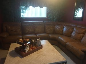 Sectional with recliners for Sale in Long Beach, CA
