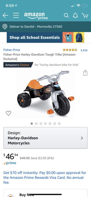 Harley Davidson kids bike for Sale in Durham, NC