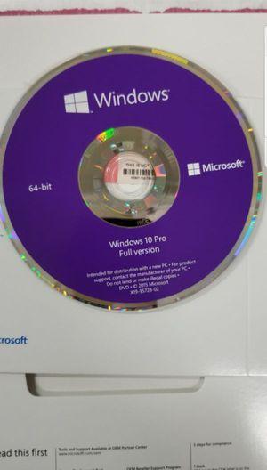 Windows 10 DVD (No Key) for Sale in Richmond, CA