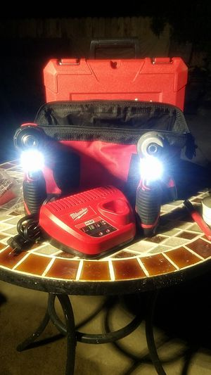 Milwaukee M12 2 tool combo kit battery and charger included model to 2494 - 2 2 box number M1 for Sale in Glendora, CA
