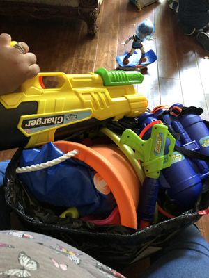 Water guns and toy for sand for Sale in Burke, VA