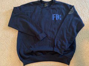 The X Files FBI UFO Alien Area 51 Crewneck Sweater - Men's Size Medium for Sale in Katy, TX