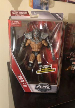 Triple H Elite Figure for Sale in Fairfax, VA