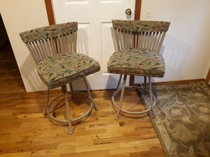 TWO VERY COMFORTABLE BARSTOOLS SWIVEL FOR SALE for Sale in Bellevue, WA