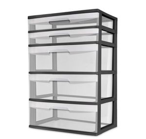 5 drawer plastic drawers $10 each for Sale in North Huntingdon, PA
