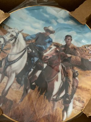 Kobe Ranger and Tonto Plate for Sale in Tamarac, FL
