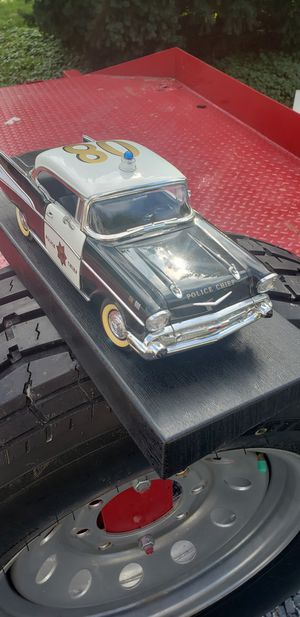 57 CHEVY DIE CAST POLICE CAR VERY NICE PIECE for Sale in East Petersburg, PA
