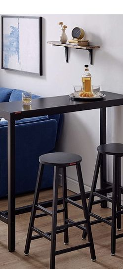 Bar Top Table-black for Sale in Long Beach,  CA