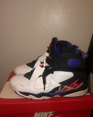 "Jordan Retro 8 ""3 peat"" Men Size 11 for Sale in Sacramento, CA"