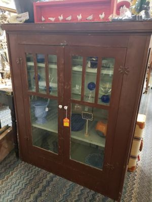 Antique double sided desk/cabinet for Sale in Moriarty, NM