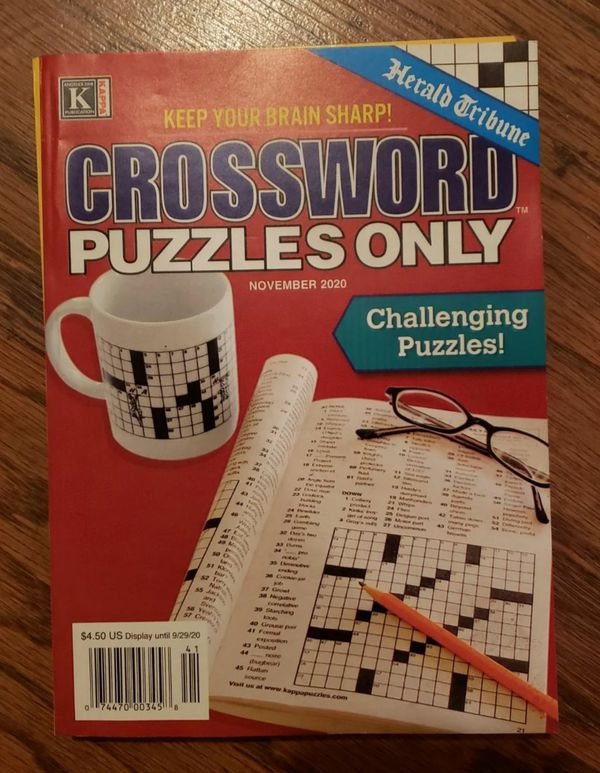 Crossword Puzzle Book Bundle of 3