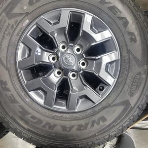 New Toyota 16 Inch Rims With Tires $700 plus tax for the set of. 4 for Sale in Auburn, WA