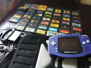 Gameboy Advanced with 40+ Games, Gameshark, for Sale in Nashville, TN