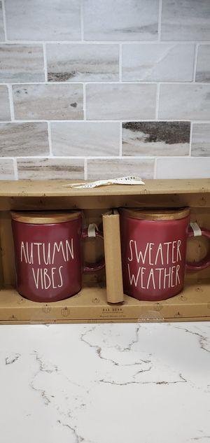 Rae dunn fall mugs set for Sale in Ontario, CA