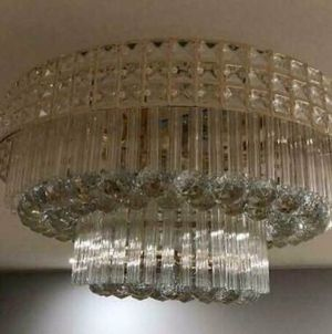 Modern Crystal Chandelier Light Ceiling Lamp Lighting Home Room Decor K9 Clear for Sale in New York, NY